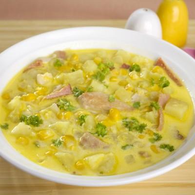 Golden Sweet Corn soup