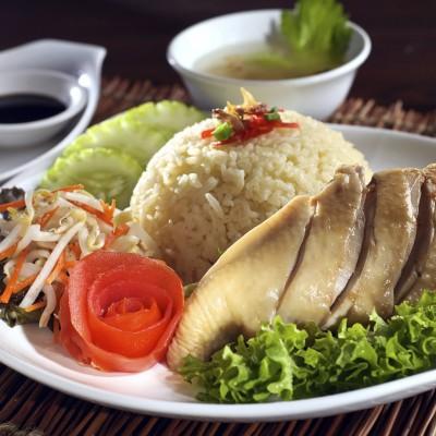 Hainan Style Chicken Rice