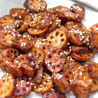 Honey Chili Lotus Stems
