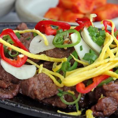 Korean Beef Stir Fry