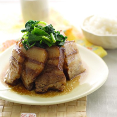 Pork Belly with Chinese Greens