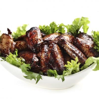 Shoyu Honey Glazed Chicken Wings