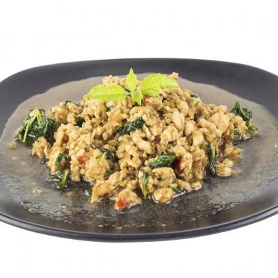 Thai Style Hot Basil & Chicken