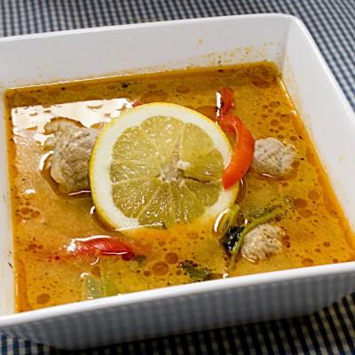 malay laksa soup